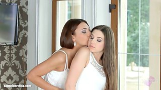 Incredible beauties on Sapphic Erotica Alexis Brill and