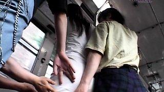 Superb public flashing sex