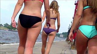 candid bikini butt ass booty west Michigan University