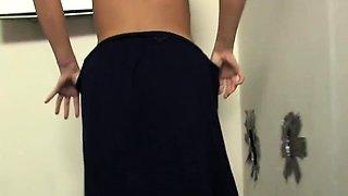 Molly Rae Getting Her First Big Black Cock - Gloryhole