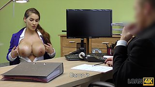 loan4k. new boobs will not solve your money problems. or will they? clip