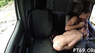 Abused little bitch in hot fuck
