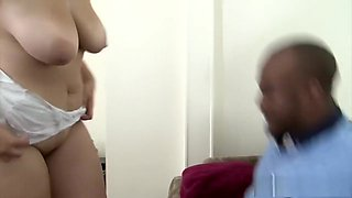 Curvy housewife creampiedy by black cock