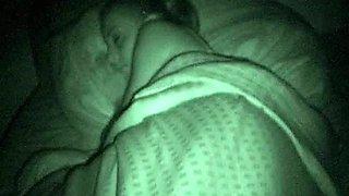 Cute Sleeping Babe Gets A Big Cock