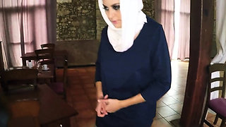 Arab teen casting and muslim housewife first time Hungry Wom