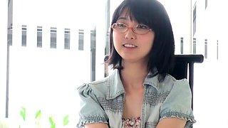 Innocent pert japanese teen sucks a dick. debut movie