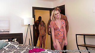 Interracial foursome with Aaliyah Love and Natalia Queen