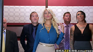Brazzers   Big Tits at Work   Bridgette B Xander Corvus   Stuck In The Elevator