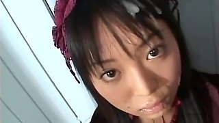 GHD-001 - Gothic Girl with Semen - Tsugumi Hoshino - 1