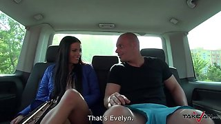 Takevan - Black hair teen with mini tits fucked by Leny Ewil