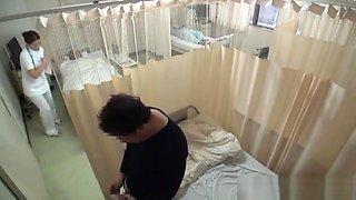 Wild Nurse moans as she is nailed hard