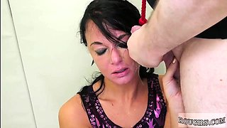 Bondage hypnosis and brutal anal fisting squirt Talent Ho