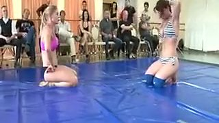 Sumo competition two females