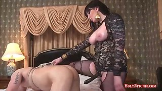 Mistress Madeline Marlowe Pegging Reed