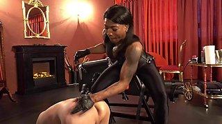 Mistress Kiana, fisting, foot fisting, strapon