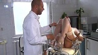 Lucky doctor fuck hot pleasure brunette nurse