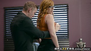 Brazzers - Big Tits at Work -  The New Girl Part 2 scene starring Lauren Phillips and Danny D