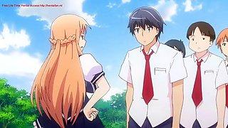 honoo no haramase oppai ero appli gakuen the animation - episode 1