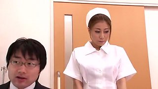 Amazing Japanese girl Chihiro Akino in Hottest Nurse, Medical JAV movie