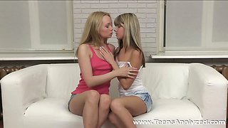 Teens Analyzed - Double anal debut for teens