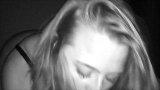Drunk Spring Break: Teen Deepthroats & Swallows My Hot Cum In Nightvision