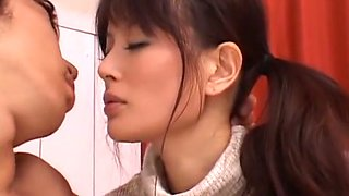 Incredible Japanese girl Yuria Aoi in Best MILFs, CFNM JAV scene