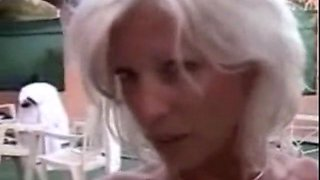I am Pierced French mature in stockings Rough anal