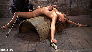 Alexia Rae in Massive Orgasm Overload Complete Destruction From Brutal Sexaul Armageddon  - HogTied