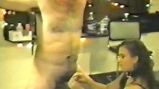 Hottest Japanese slut in Horny CFNM, BDSM JAV scene
