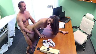 FakeHospital Hot Spanish patient gets creampied