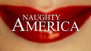 Cougar schemes young guy into banging her - Naughty America